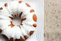 """<p>Stay-at-home chefs are thinking about nothing <i>bundt</i> cakes! If you have a bundt cake pan in your kitchen, get ready to dust it off because this lemon buttermilk recipe is pure perfection. It's moist and tangy as well as the perfect pick-me-up on a lazy afternoon.</p> <p><strong>Get the recipe</strong>: <a href=""""https://www.popsugar.com/food/Lemon-Buttermilk-Bundt-Cake-Recipe-23151888"""" class=""""link rapid-noclick-resp"""" rel=""""nofollow noopener"""" target=""""_blank"""" data-ylk=""""slk:lemon buttermilk bundt cake"""">lemon buttermilk bundt cake</a></p>"""