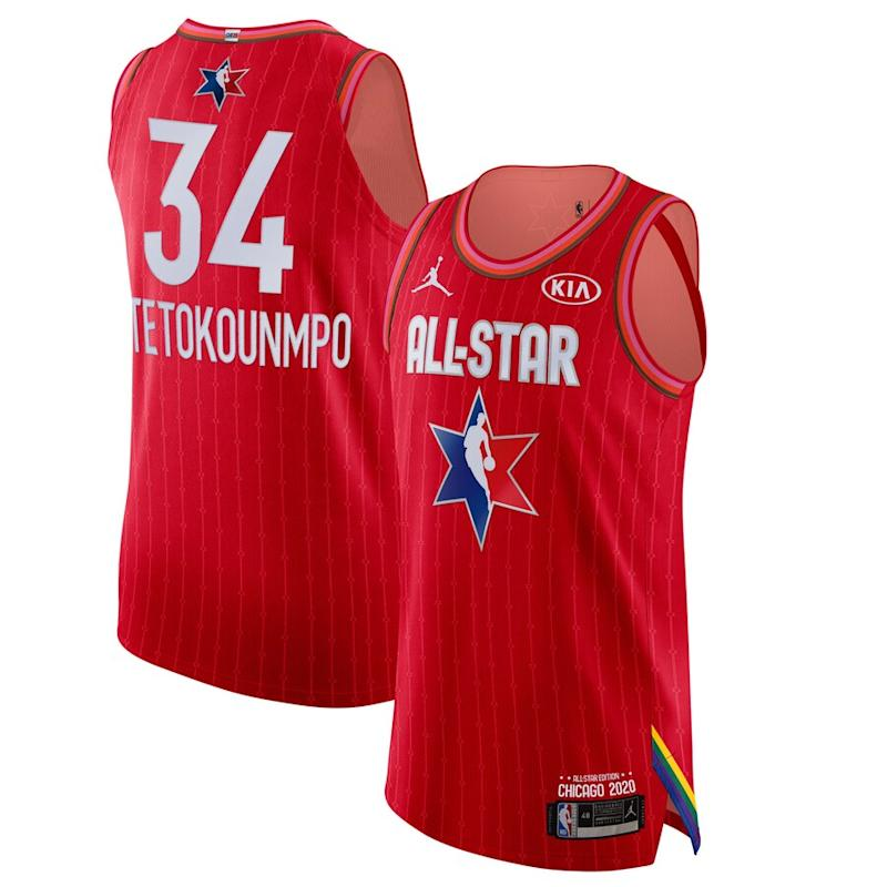 Antetokounmpo Jordan Brand 2020 NBA All-Star Game Jersey