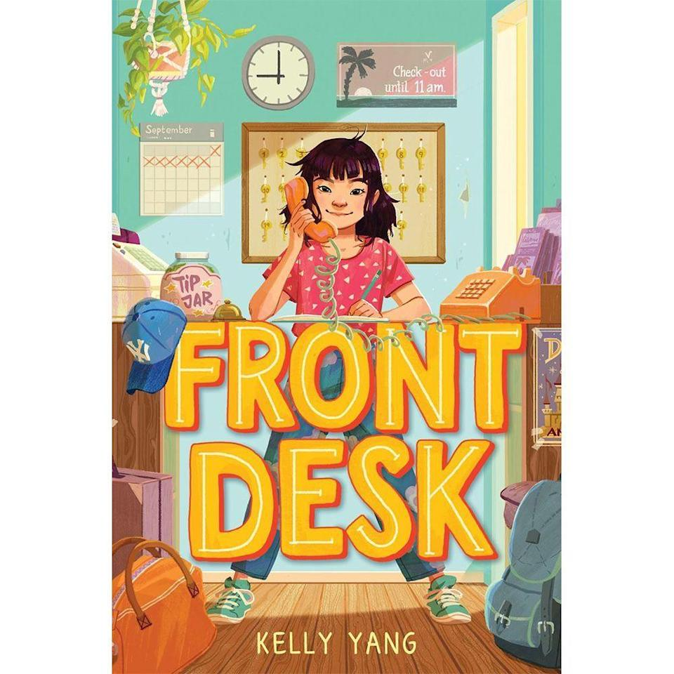 "<p><strong>Kelly Yang</strong></p><p>booksamillion.com</p><p><strong>$15.59</strong></p><p><a href=""https://go.redirectingat.com?id=74968X1596630&url=https%3A%2F%2Fwww.booksamillion.com%2Fp%2FFront-Desk-Scholastic-Gold%2FKelly-Yang%2F9781338157826%3Fid%3D7874811136756&sref=https%3A%2F%2Fwww.bestproducts.com%2Fparenting%2Fg32366322%2Fkids-books-for-asian-american-pacific-islander-heritage-month%2F"" rel=""nofollow noopener"" target=""_blank"" data-ylk=""slk:Shop Now"" class=""link rapid-noclick-resp"">Shop Now</a></p><p>Mia Tang and her family are new to the United States and are ready to work hard in order to build a new life. The only problem is, nothing is going as they expected it to. </p><p>After a couple of years, Mia and her family are working in less than desirable conditions at a motel for a boss that is an actual ogre. Despite the tough circumstances, Mia spends her shifts at the motel dreaming about becoming a writer while also assisting her parents as they help new immigrants acclimate to the country.</p><p>Based on the author's own story as a young Chinese immigrant, your kiddos will feel like Mia is their real-life friend as they read through the <a href=""https://www.amazon.com/dp/B086Q2FQDD?ref_=dbs_s_ks_series_rwt"" rel=""nofollow noopener"" target=""_blank"" data-ylk=""slk:multibook series"" class=""link rapid-noclick-resp"">multibook series</a>. </p>"
