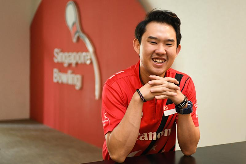 National bowler Muhammad Jaris Goh blocks out the pressures of success by being focused on the process of his competition routines. (PHOTO: Stefanus Ian/Yahoo News Singapore)