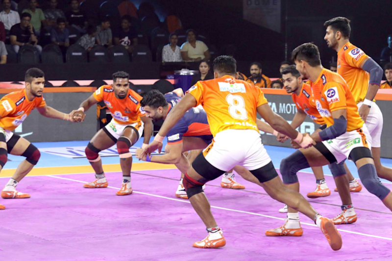 Pro Kabaddi League 2019 Live Streaming: When and Where to Watch Puneri Paltan vs Gujarat Fortune Giants Live Telecast