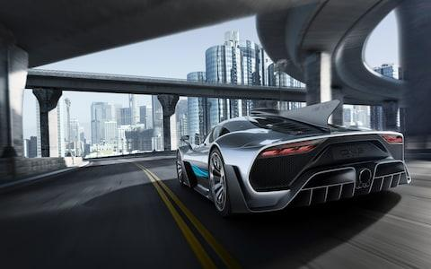 Mercedes-AMG hypercar Project One