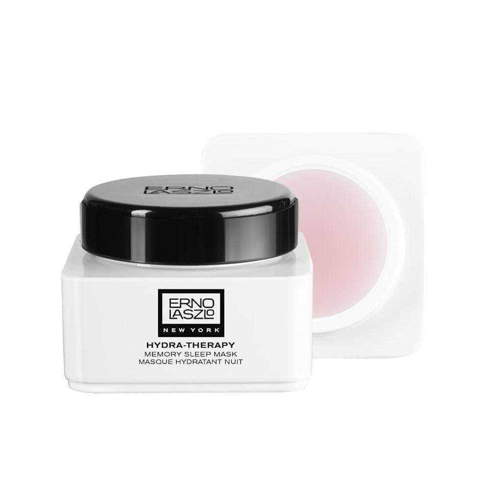 """<p><strong>Erno Laszlo</strong></p><p>sephora.com</p><p><strong>$108.00</strong></p><p><a href=""""https://go.redirectingat.com?id=74968X1596630&url=https%3A%2F%2Fwww.sephora.com%2Fproduct%2Fhydra-therapy-memory-sleep-mask-P402714&sref=https%3A%2F%2Fwww.goodhousekeeping.com%2Fbeauty%2Fanti-aging%2Fg33462485%2Ftomato-skincare%2F"""" rel=""""nofollow noopener"""" target=""""_blank"""" data-ylk=""""slk:Shop Now"""" class=""""link rapid-noclick-resp"""">Shop Now</a></p><p>This gel-formula sleeping mask soaks into skin while you sleep so you can wake up dewy and refreshed. Its blend of plant-based ingredients (including tomato leaf cell culture extract) work to brighten and firm skin. """"<strong>My face is softer and feels plumper and well-hydrated</strong>,"""" raves one reviewer.</p>"""