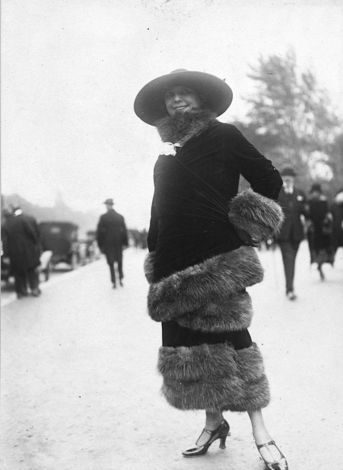 <p>There's no such thing as too much fur, clearly. </p>