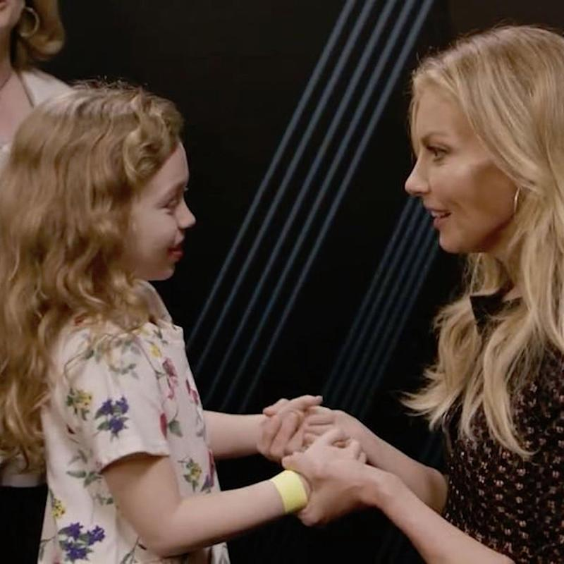 Faith Hill Fulfills a Young Fan's Wish During a Concert Stop in Mississippi