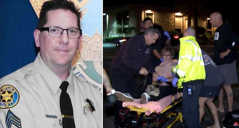 Sheriff Vet Killed Responding to Calif Shooting - Police Depts Pay Tribute