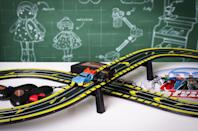 """<p>Taking the top spot is this Scalextric Batman vs Superman, which launch in stores and online this September. Great for keeping kids entertained over the holidays, we're certain it will bring hours of fun. </p><p>'The Scalextric was my favourite game,' says nine-year-old toy tester Daisy. 'I think it would be fun to play with my mum and dad and try to beat them! It's definitely going on my Christmas list this year.'</p><p><a class=""""link rapid-noclick-resp"""" href=""""https://go.redirectingat.com?id=127X1599956&url=https%3A%2F%2Fwww.johnlewis.com%2Fbaby-child%2Fshop-toys%2Fc19051712&sref=https%3A%2F%2Fwww.housebeautiful.com%2Fuk%2Flifestyle%2Fshopping%2Fg33979702%2Fjohn-lewis-christmas-toys%2F"""" rel=""""nofollow noopener"""" target=""""_blank"""" data-ylk=""""slk:SHOP TOYS AT JOHN LEWIS"""">SHOP TOYS AT JOHN LEWIS</a></p>"""