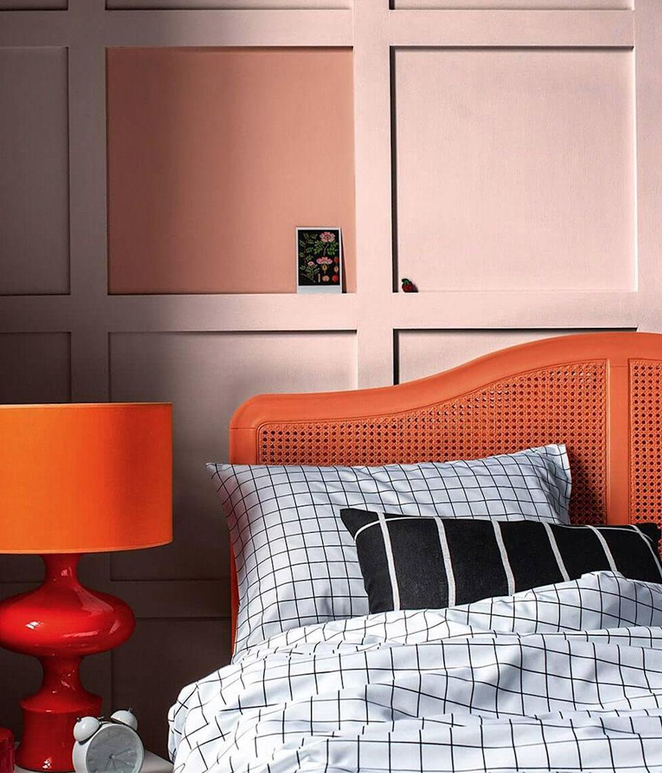 """<p>Usually considered a clashing pair, pink and orange sit close to one another on the colour wheel, and so can work harmoniously when shades are chosen correctly. A vivid pink and bright orange combination can appear highly saturated and overwhelming, but softening your pink tones lets a fiery orange stand out.</p><p>Pictured: <a href=""""https://go.redirectingat.com?id=127X1599956&url=https%3A%2F%2Fwww.dulux.co.uk%2Fen%2Fcolour-details%2Fcopper-blush&sref=https%3A%2F%2Fwww.redonline.co.uk%2Finteriors%2Feasy-to-steal-ideas%2Fg37326104%2Fcolour-combinations%2F"""" rel=""""nofollow noopener"""" target=""""_blank"""" data-ylk=""""slk:Copper Blush"""" class=""""link rapid-noclick-resp"""">Copper Blush</a> and <a href=""""https://go.redirectingat.com?id=127X1599956&url=https%3A%2F%2Fwww.dulux.co.uk%2Fen%2Fcolour-details%2Fballerina-dance&sref=https%3A%2F%2Fwww.redonline.co.uk%2Finteriors%2Feasy-to-steal-ideas%2Fg37326104%2Fcolour-combinations%2F"""" rel=""""nofollow noopener"""" target=""""_blank"""" data-ylk=""""slk:Ballerina Dance"""" class=""""link rapid-noclick-resp"""">Ballerina Dance</a>, both by Dulux</p>"""
