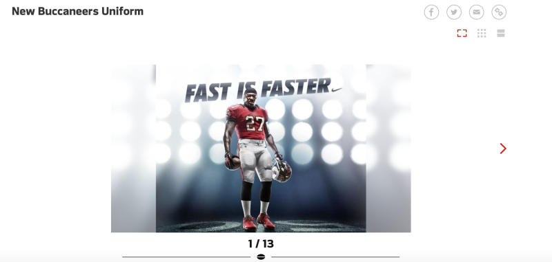 (Buccaneers.com screen shot)