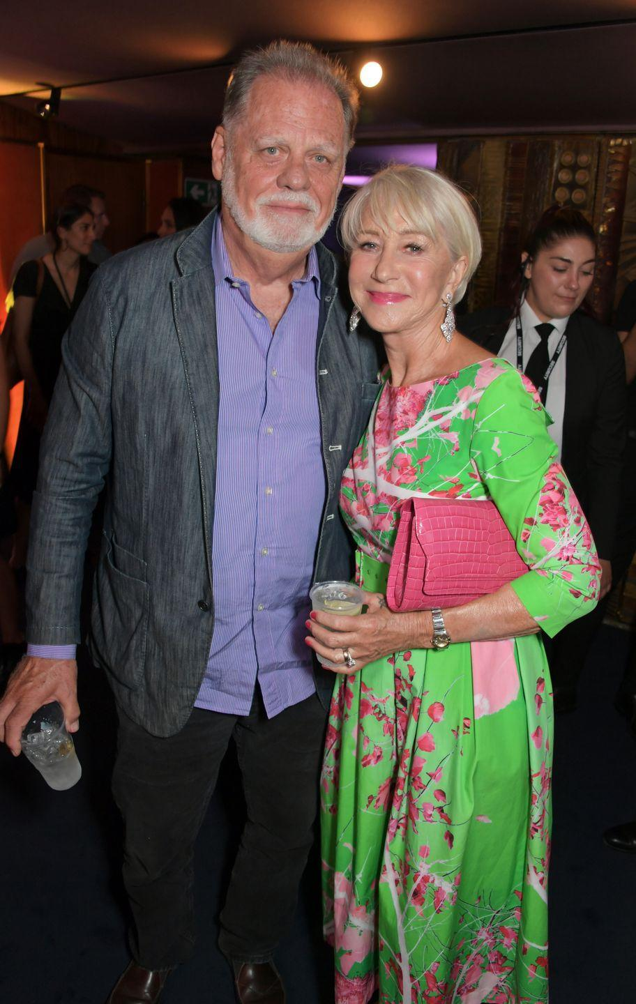 """<p><strong>How long they've been together:</strong> Mirren met her director husband, Hackford, when she was 38 years old. """"I did very consciously choose my work over my relationships right up to the time that I met Taylor,"""" Mirren told <em><a href=""""https://www.aarp.org/entertainment/movies-for-grownups/info-2016/helen-mirren-celebrity-interview.html"""" rel=""""nofollow noopener"""" target=""""_blank"""" data-ylk=""""slk:AARP Magazine"""" class=""""link rapid-noclick-resp"""">AARP Magazine</a></em>. The two married in 1997, 10 years after they started dating. </p><p><strong>Why you forgot they're a couple: </strong>With such accolades as a Damed actress and an Academy Award-winning film director, Mirren and Hackford are the definition of a heavy-hitter Hollywood couple. Yet they are more than happy keeping a low profile. <strong><br></strong></p>"""