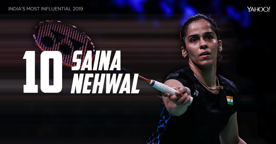 The nemesis of PV Sindhu, Nehwal had an impressive 12 months on the court. After beating Sindhu in the 2018 Commonwealth Games finals, she repeated the same feat in the National Championship finals. Now, a biopic on Saina, starring Parineeti Chopra, is in the works.