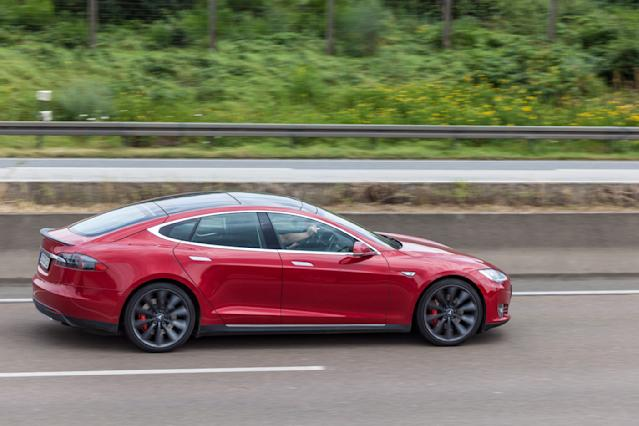 The Tesla Model S scored highly among electric cars for driver satisfaction. (Getty)