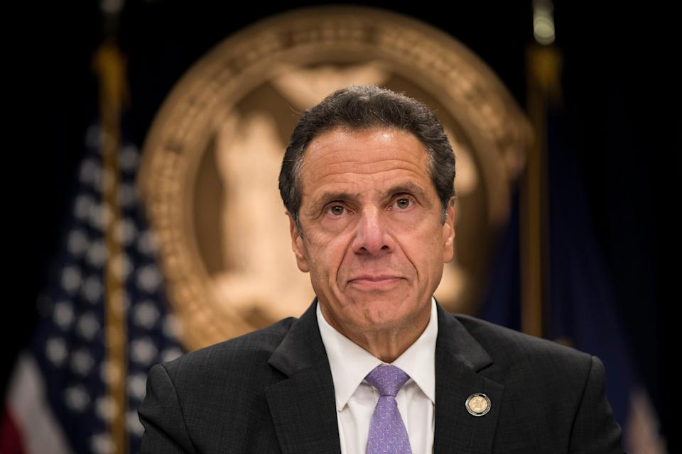 <p>New York Governor Andrew Cuomo denied any wrongdoing after his former aides accused him of sexual harassment  </p> (Getty Images)