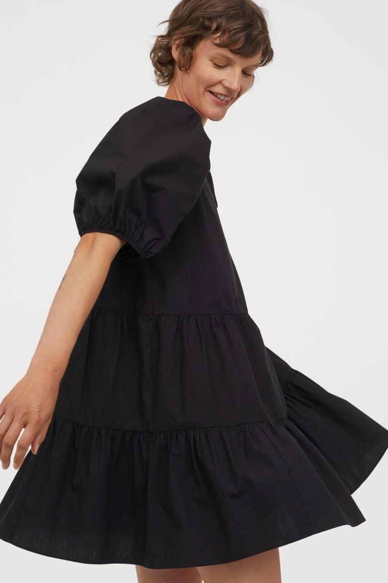 """<p>""""My appreciation for house dresses has hit an all-time high now that I'm stuck inside most days. This <span>H&M Puff-sleeved Dress</span> ($30) is crazy comfortable and is an easy way to add a little oomph to your wardrobe when you need a break from sweatpants."""" - Kelsey Kennick, operations manager, Editorial</p>"""