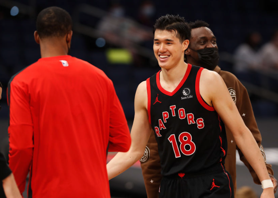 After what seems like decades away from Toronto, the Raptors are finally coming home. A few of them are already settling in quite nicely, too. (Getty)