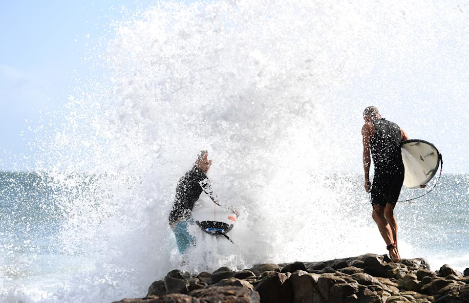 Rising water levels as a result of climate change could prove catastrophic for Noosa, experts say. Source: AAP