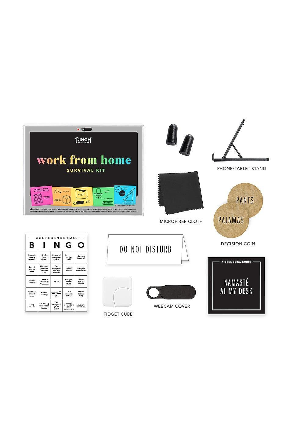 <p>This <span>Pinch Provisions Work From Home Survival Kit</span> ($20) is an essential for anyone who isn't going into an office.</p>