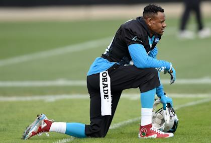 Ginn is under contract with the Panthers through next season. (Getty Images)