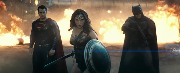 WB thought Wonder Woman needed Superman and Batman to make an entrance. She outshined both of them in their own movie.
