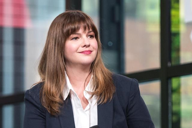 "Amber Tamblyn visits the Build Series to discuss ""Any Man"" on June 26, 2018, in New York City. (Photo: Mike Pont/Getty Images)"