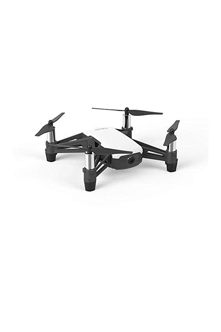 """<p><strong>DJI</strong></p><p>amazon.com</p><p><strong>$99.99</strong></p><p><a href=""""https://www.amazon.com/dp/B07BDHJJTH?tag=syn-yahoo-20&ascsubtag=%5Bartid%7C10067.g.13094996%5Bsrc%7Cyahoo-us"""" rel=""""nofollow noopener"""" target=""""_blank"""" data-ylk=""""slk:Shop Now"""" class=""""link rapid-noclick-resp"""">Shop Now</a></p><p>A budget-friendly option, DJI's Tello is a great gift for someone who is just starting out in the drone world. It includes a 5-megapixel camera and can fly for 13 minutes on a single charge.</p>"""