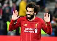 Mohamed Salah scored as Liverpool beat Salzburg 2-0 to reach the Champions League last 16 (AFP Photo/BARBARA GINDL)