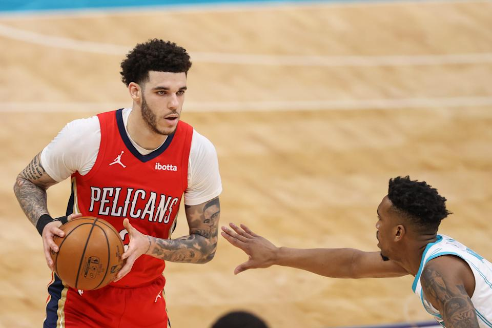 The Pelicans are not expected to retain Lonzo Ball (2) in free agency.