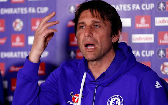 <span>Antonio Conte says Cahill is improving a lot</span> <span>Credit: Reuters </span>