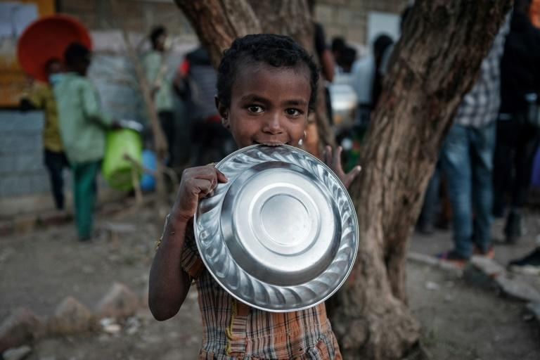 """The US estimates 900,000 civilians are """"likely already experiencing famine conditions"""""""