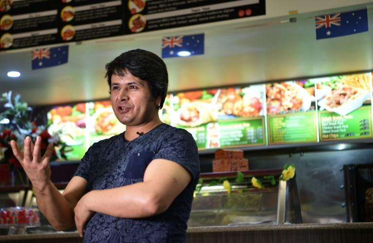 Ali's restaurant in Griffith employs another refugee, and a migrant from Malaysia