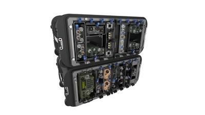 The Voyager Tactical Radio Integration Kit (TRIK) is configurable based on mission requirements.
