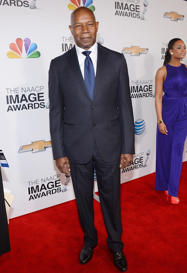 LOS ANGELES, CA - FEBRUARY 01:  Actor Dennis Haysbert arrives at the 44th NAACP Image Awards held at The Shrine Auditorium on February 1, 2013 in Los Angeles, California.  (Photo by Mark Davis/Getty Images for NAACP Image Awards)