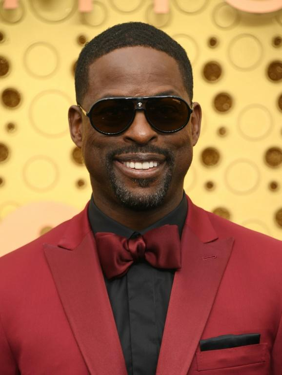 Actor Sterling K. Brown ('This Is Us') rocks the red at the Emmys
