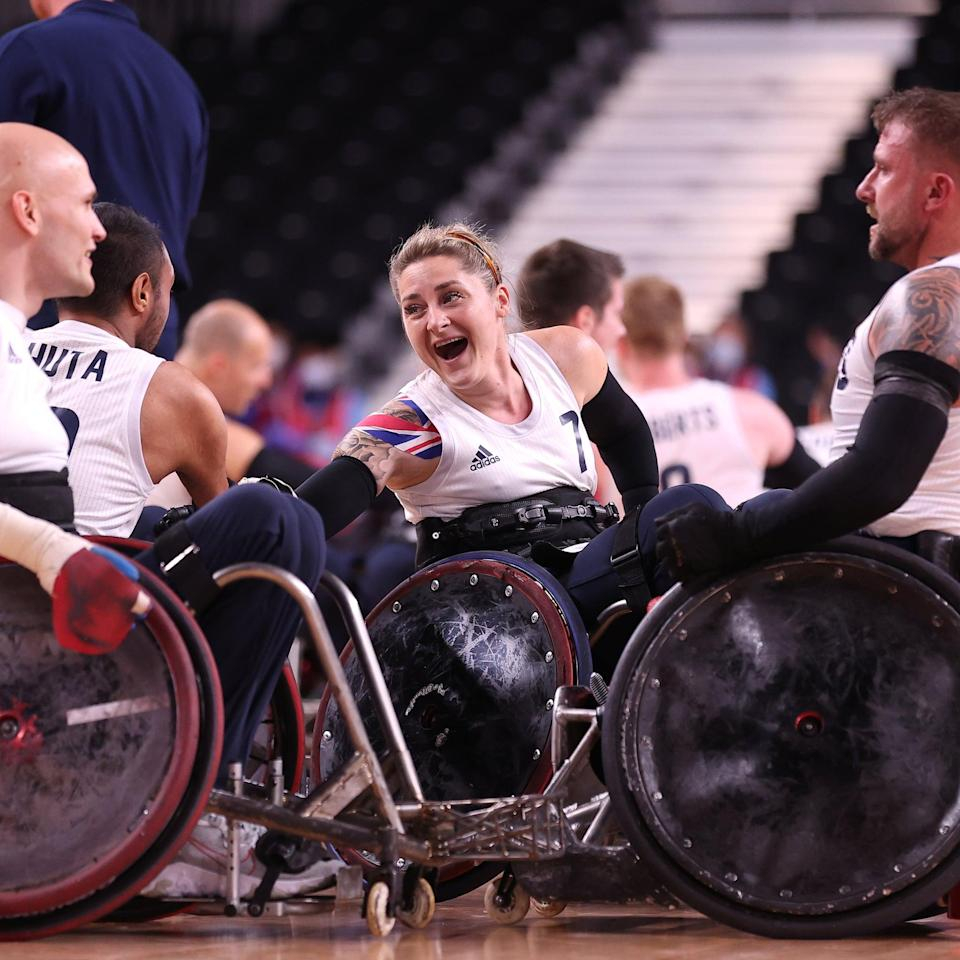 Kylie Grimes Makes History as the First Woman to Win Paralympic Gold in Wheelchair Rugby