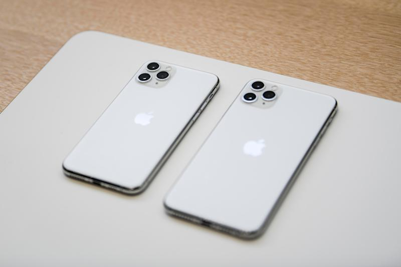 The new iPhone 11 Pro and 11 Pro Max feature a new three-camera system, which includes a telephoto, wide and ultra-wide lens.