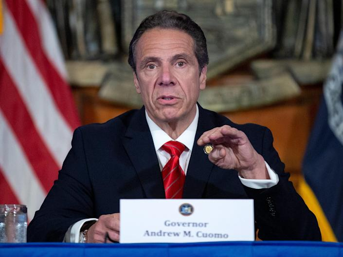 New York Gov Andrew Cuomo (Getty Images)
