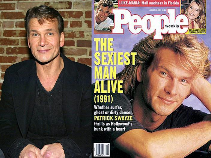 patrick swayze people sexiest man