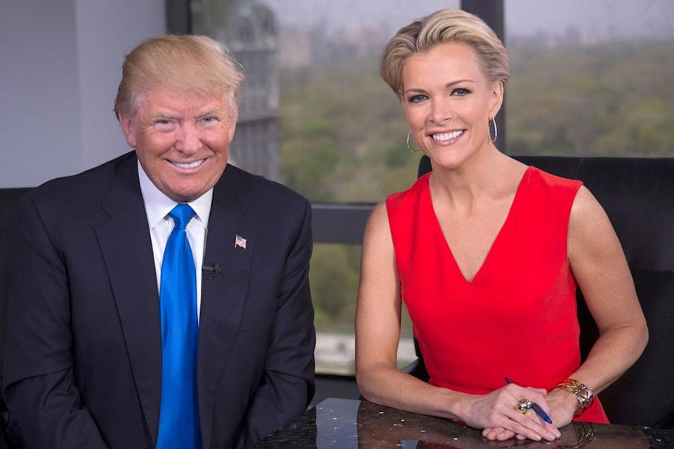 Donald Trump and Megyn Kelly | Eric Liebowitz/Getty Images