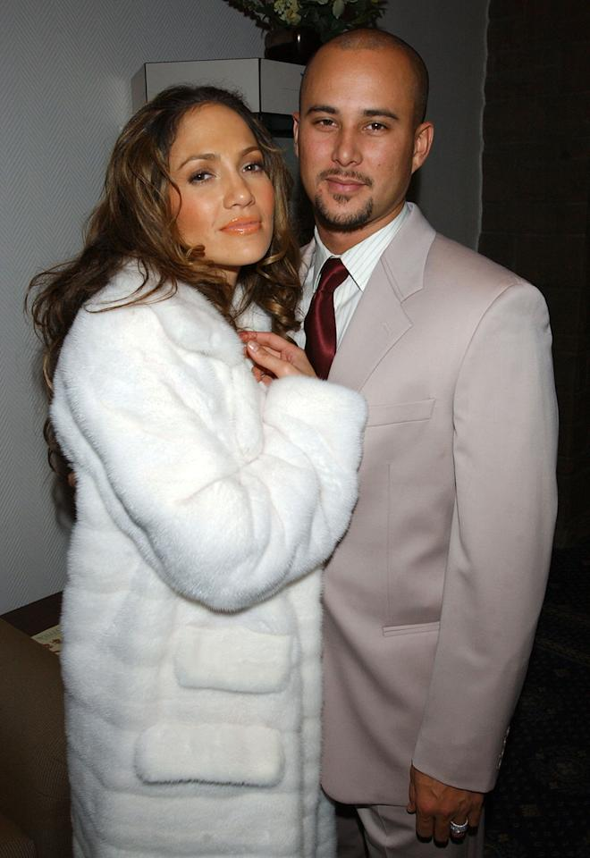 Jennifer Lopez, who presented at the 2011 Golden Globes (and threatened to kill host Ricky Gervais), was once married to backup dancer Cris Judd. The two married in 2001 and called it quits in 2002. Judd is now remarried, and Lopez has moved on to backup dancer Casper Smart.