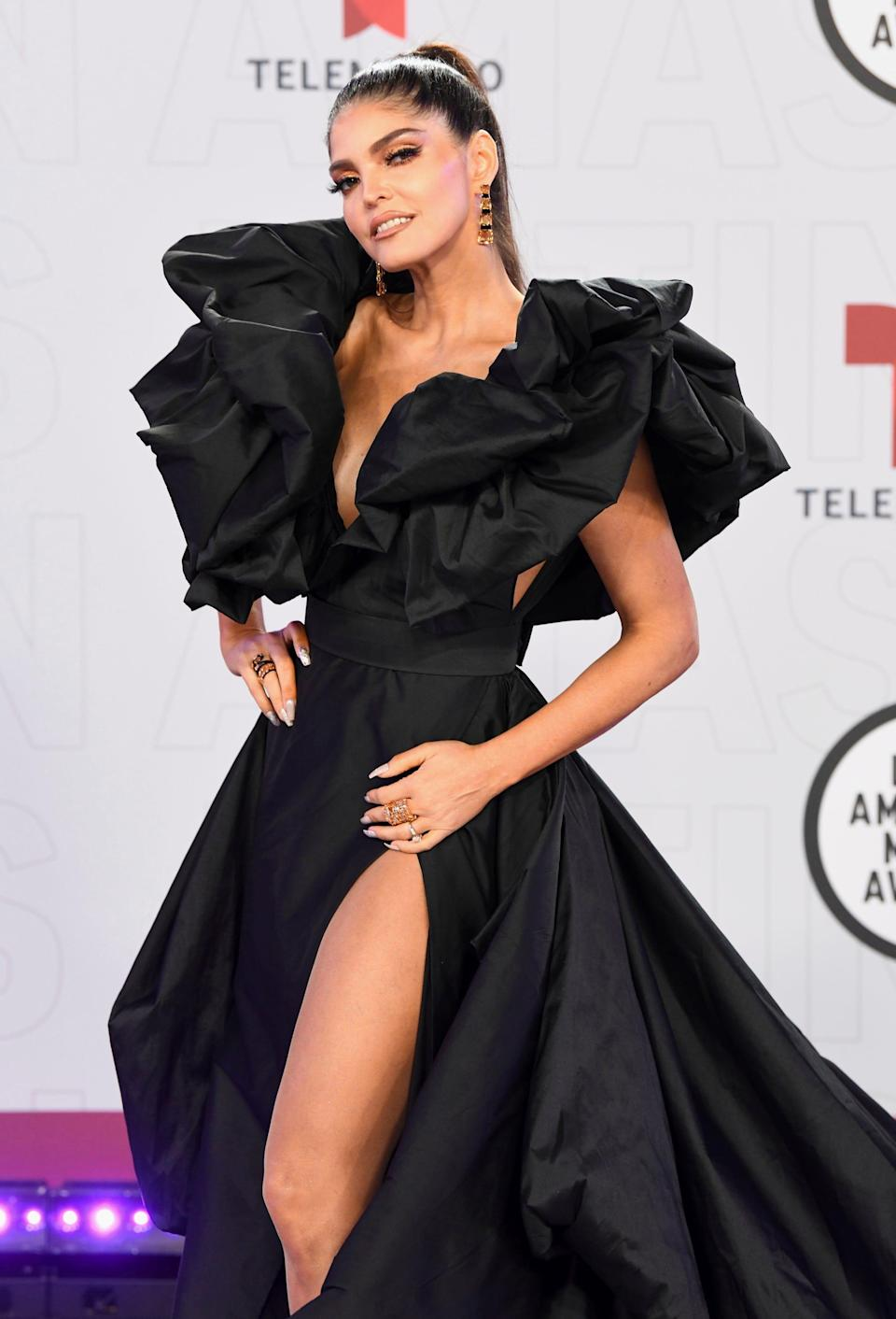 """Withmore than 20 years in the music industry, Ana Bárbara, also known as """"La reina grupera,"""" has dabbled in many genres including mariachi, pop, banda sinaloenseand romantic ballads.Her hits include """"Bandido,"""" """"La trampa,"""" """"Quise olvidar,"""" """"Me asusta pero me gusta,"""" and her discography includes 11 albums."""