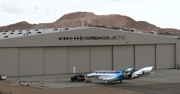 It's much larger than a car, but smaller than a traditional spacecraft.