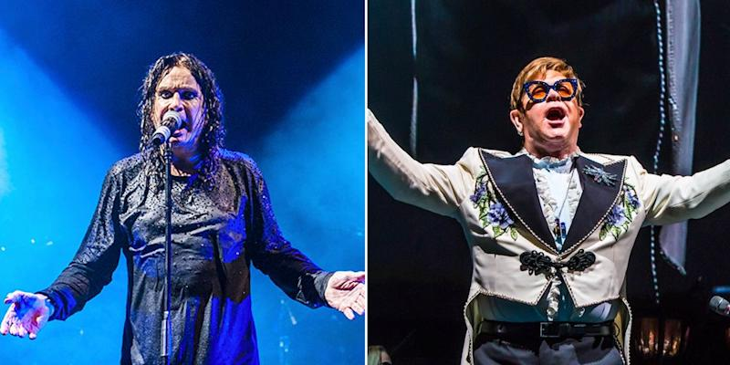 Ozzy Osbourne collaborating with Elton John on new song