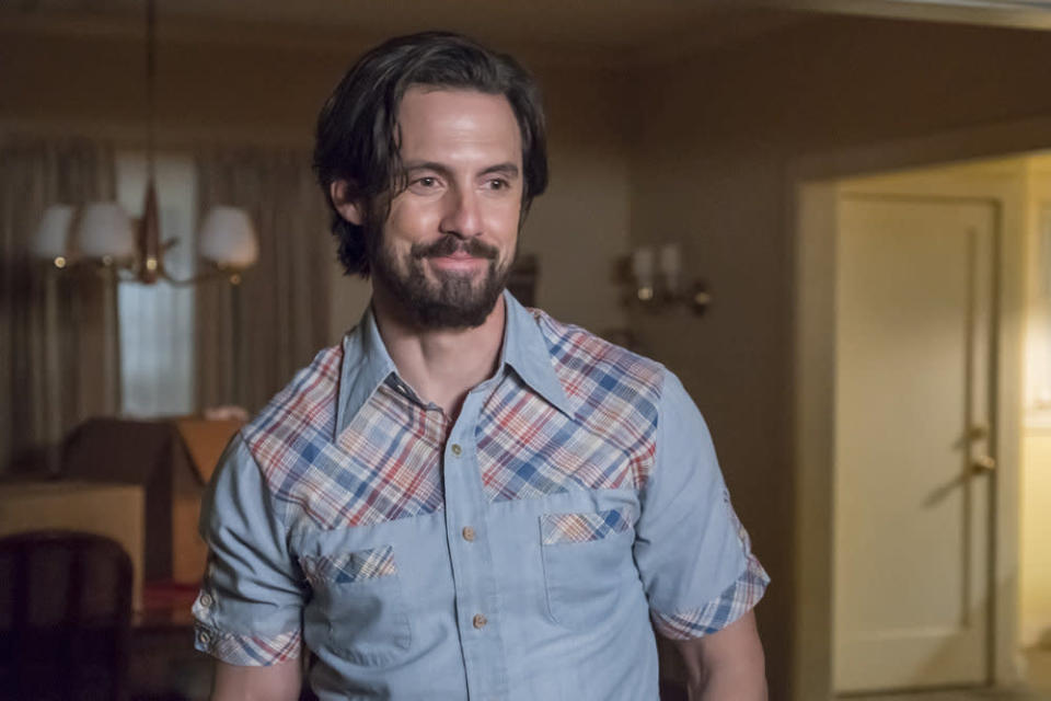 Milo Ventimiglia as the doomed Jack Pearson in <em>This Is Us.</em> (Photo: Ron Batzdorff/NBC)
