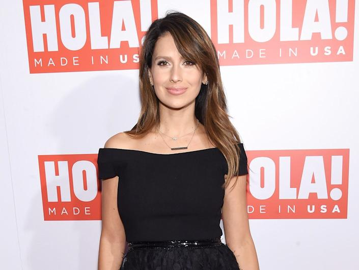 Hilaria Baldwin attends the HOLA! USA launch hosted by Alec & Hilaria Baldwin at Porcelanosa on September 29, 2016 in New York City