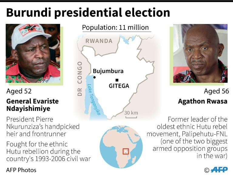 Burundi's presidential election (AFP Photo/Vincent LEFAI)