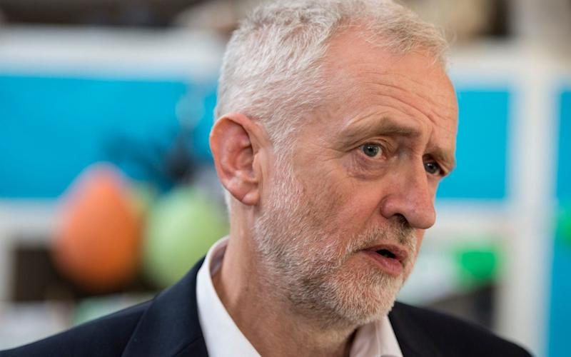 Jeremy Corbyn, the Labour leader - PA