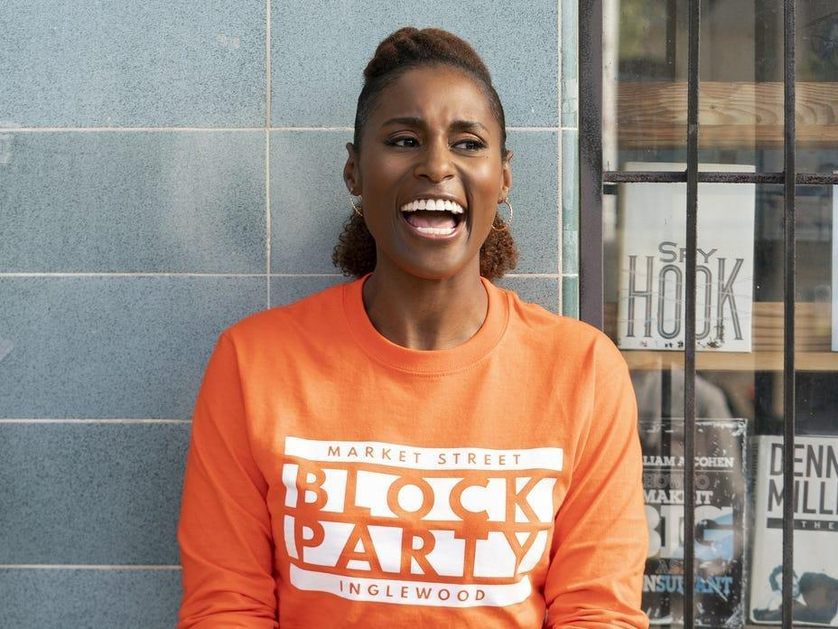 Yvonne Orji, Issa Rae as Molly and Issa Insecure season four Merie W. Wallace HBO