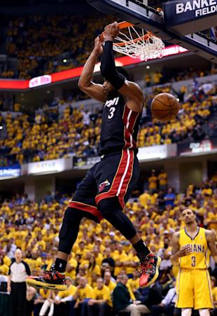 Dwyane Wade seems to have his legs back. (Andy Lyons/Getty Images)