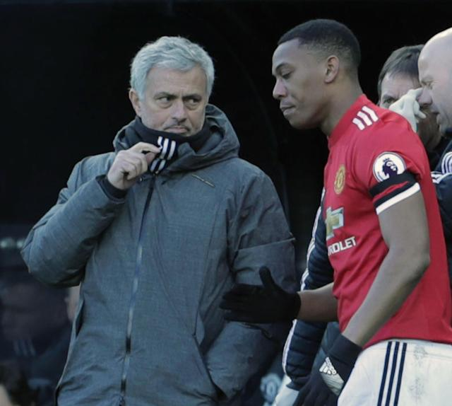 Anthony Martial is waiting on news on Jose Mourinho's future before committing to Manchester United