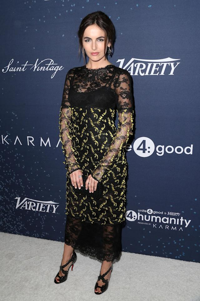 <p>Belle attends unite4:humanity at Montage Beverly Hills on Feb. 25, 2016. (Photo: Getty Images) </p>